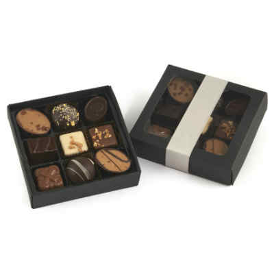 giv eksklusivt chokolade i værtsgave
