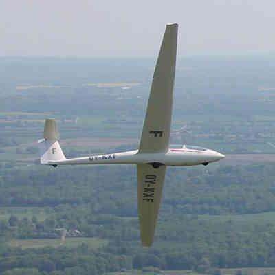 Adrenalinfyldt svæveflyvning
