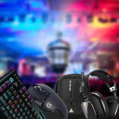 Forskellige gamer udstyr til drenge