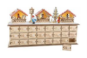 køb den sjove julekalender udformning til børn