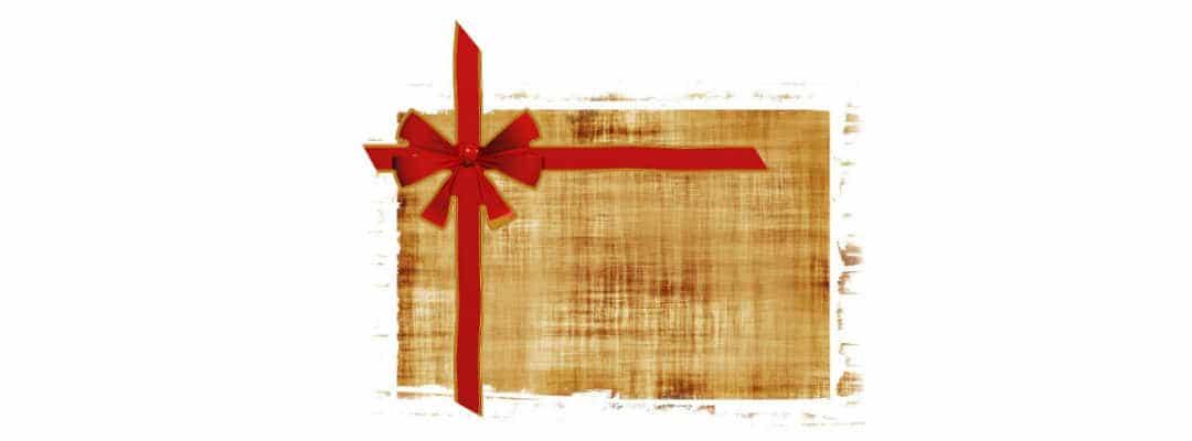 giv et gavekort i dåbsgave til drengen
