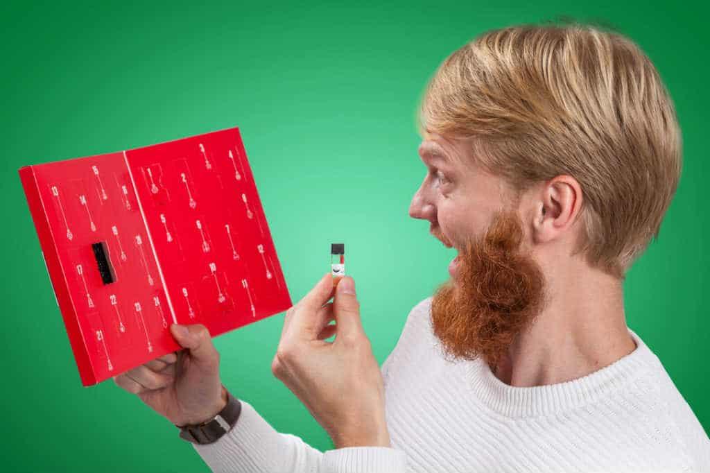 køb en Julekalender med skægolie