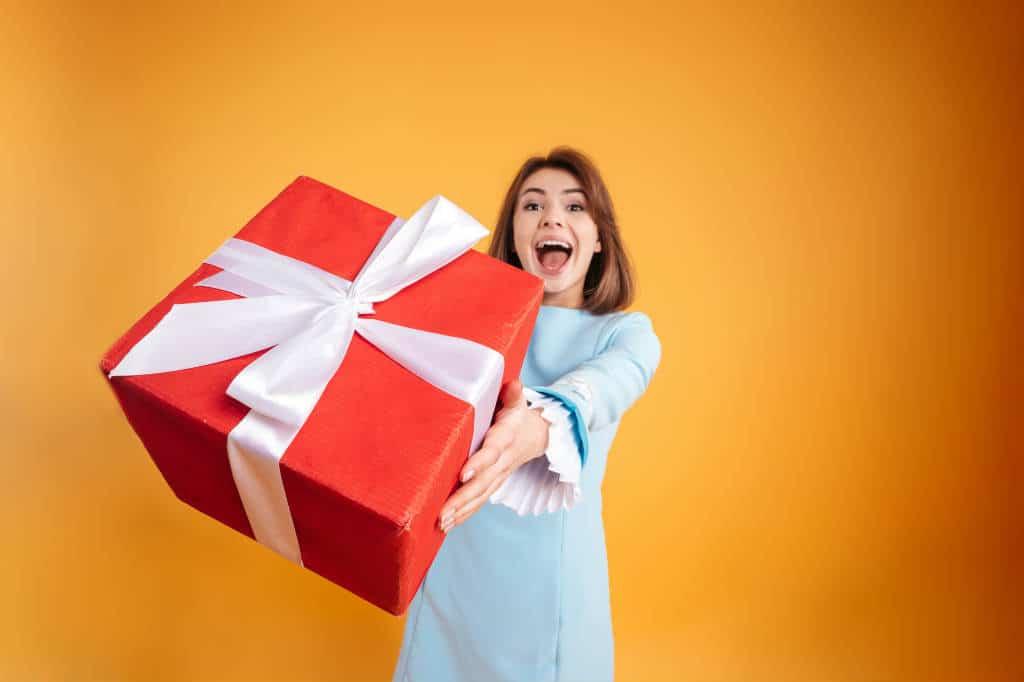 Giv en personlig gave til modtageren