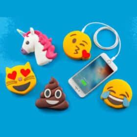 Sjove Emoji-powerbanks