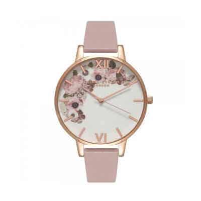Giv det feminine Olivia Burton Enchanted ur i gave