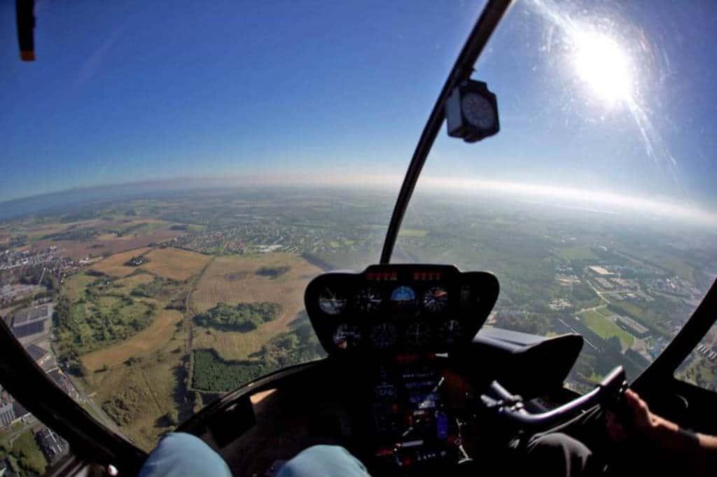 køb en Helikopter rundflyvning oplevelsesgave