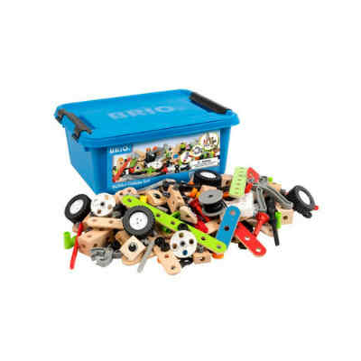 409f8c92c86  Brio Builder Deluxe sæt. Drenge elsker at bygge og derfor er legetøj ...