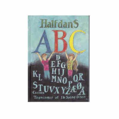 halfdans abc er en god dåbsgave til drengen eller pigen