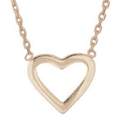 35b9c342015 Køb en flot hjerte guld halskæde i gave til hende der bliver student