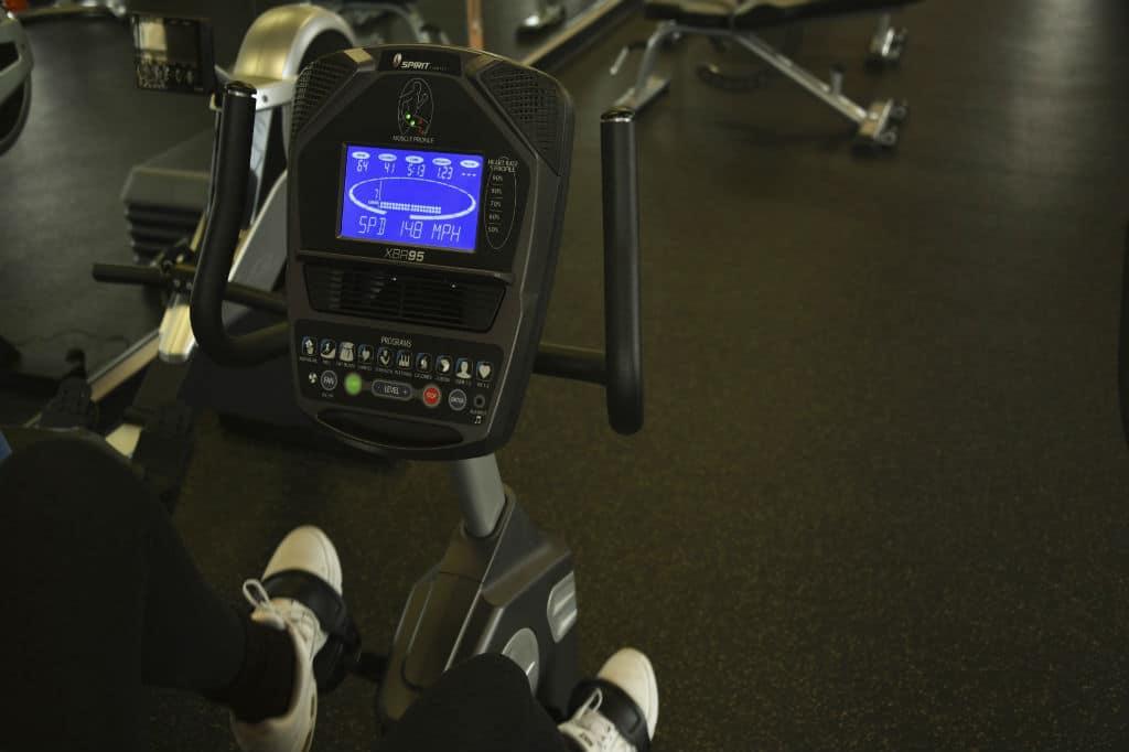Brug en motionscykel test til at finde den bedste