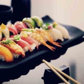 Hyggelig sushi-kursus med veninden