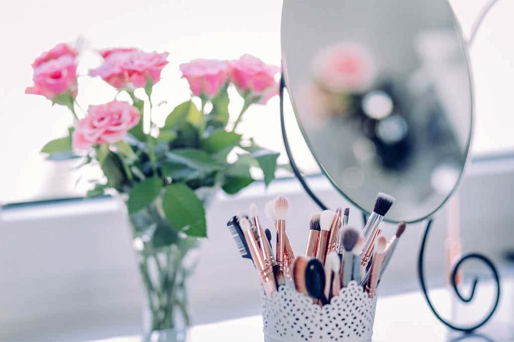 køb makeup spejle med lys