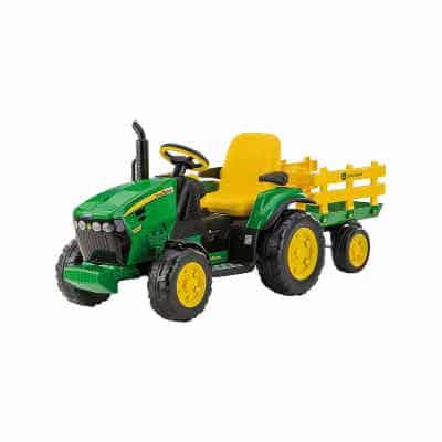 e54b1624c3f Du finder Playmobil riddere her · Køb John Deere udendørs traktor i gave