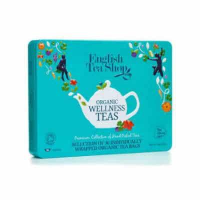 Giv en te gaveæske med udsøgt te