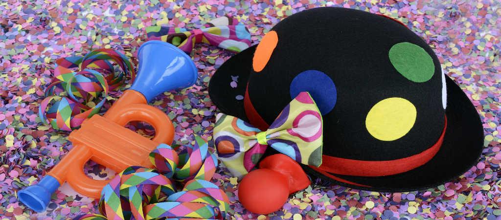 hyr en klovn som underholdning til barnets fødselsdag