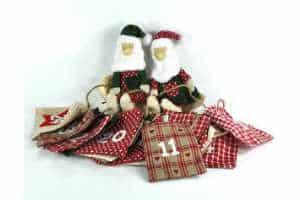 Giv den sjove guirlande julekalender indpakning
