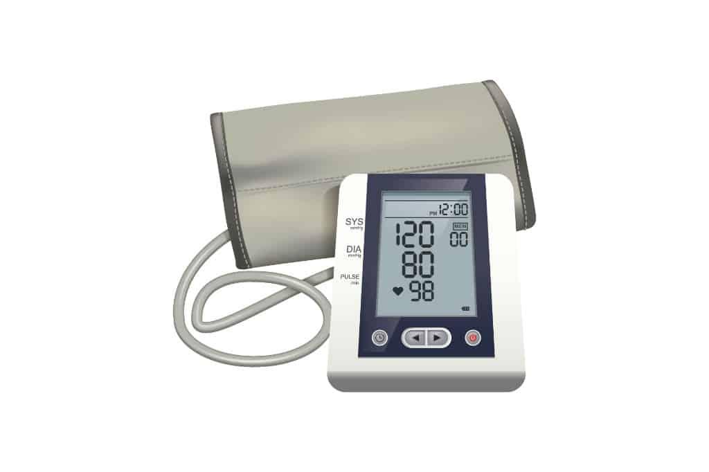 brug en blodtryksmåler test til at finde den bedste