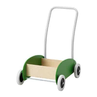 Køb den svenske vogn i grøn til babyen