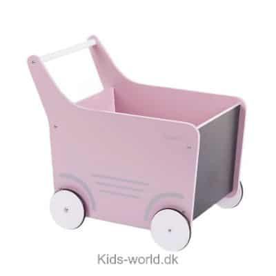 Køb en Childhome gåvovogn i lyserød med tavle