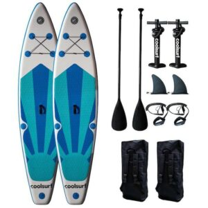 CoolSurf 2 x Stormy Kite Paddleboard - Oppustelig SUP 10'4