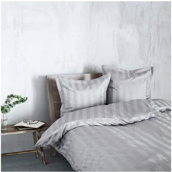 Georg Jensen Damask sengetøj - Vertical - Grå