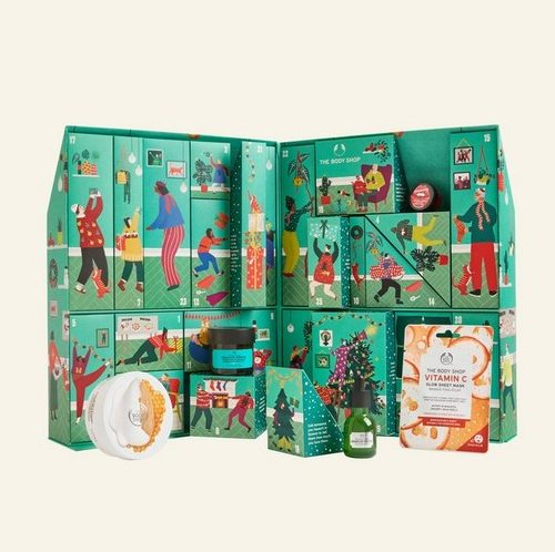buy the exclusive BodyShop Christmas calendar for the wife